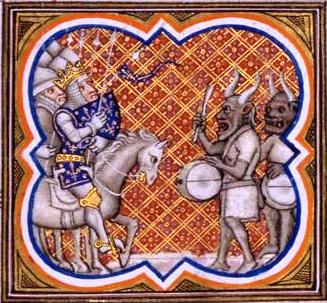Arte y religión islámicos en el contexto románico. X01-devils