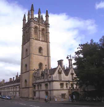 Magdelan College, Oxford